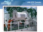 lng sts transfer gear placement