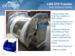 lng sts transfer hose support saddle