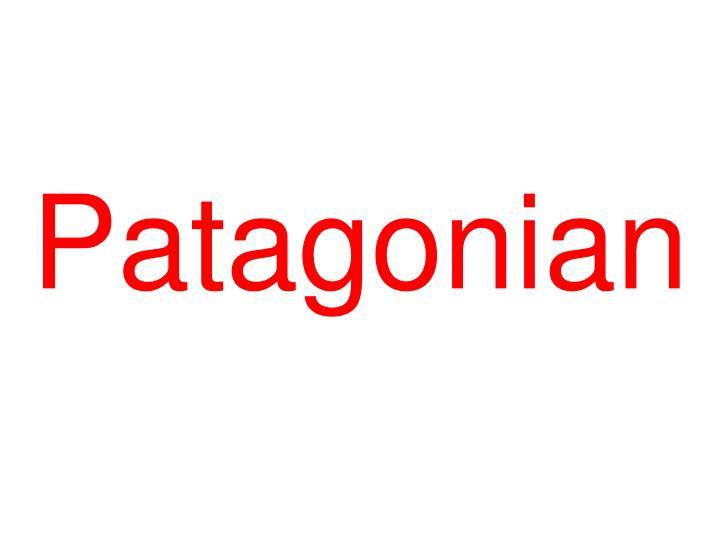 Patagonian