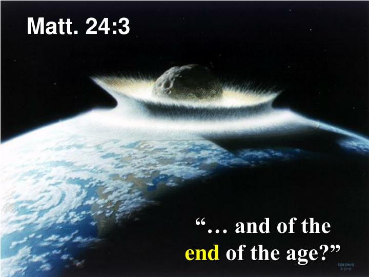 Matt. 24:3