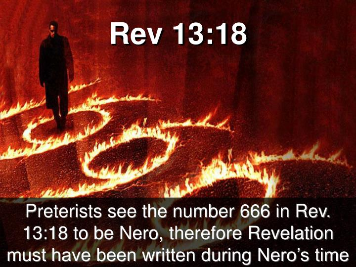 Rev 13:18