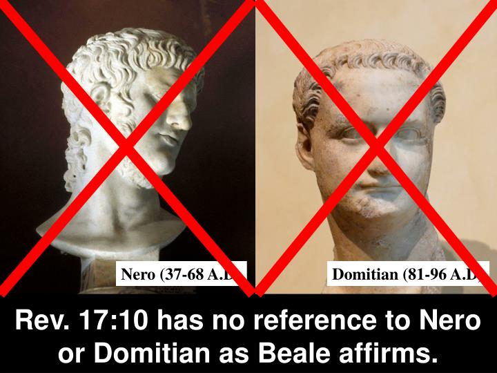 Rev. 17:10 has no reference to Nero or Domitian as Beale affirms.