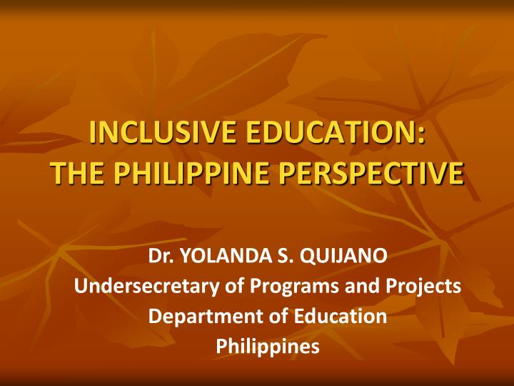 inclusive education and interprofessional perspectives Interprofessional health care services in  building on these initiatives and the need for greater emphasis on interprofessional education  perspectives.