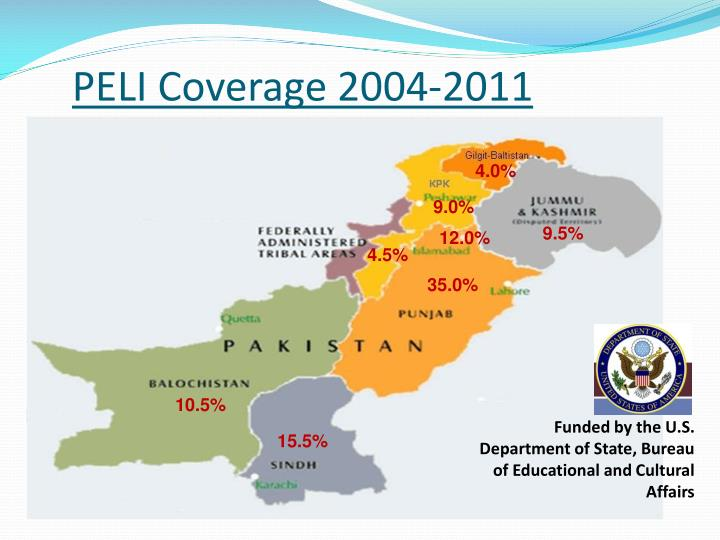 PELI Coverage 2004-2011