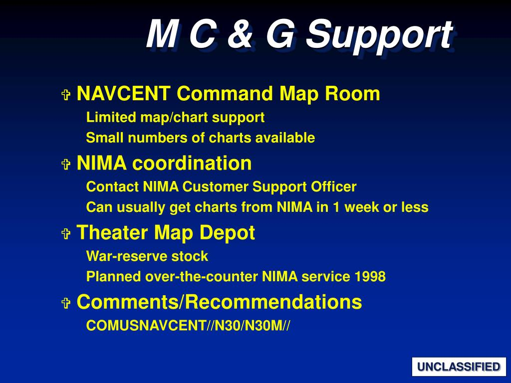 NAVCENT Command Map Room