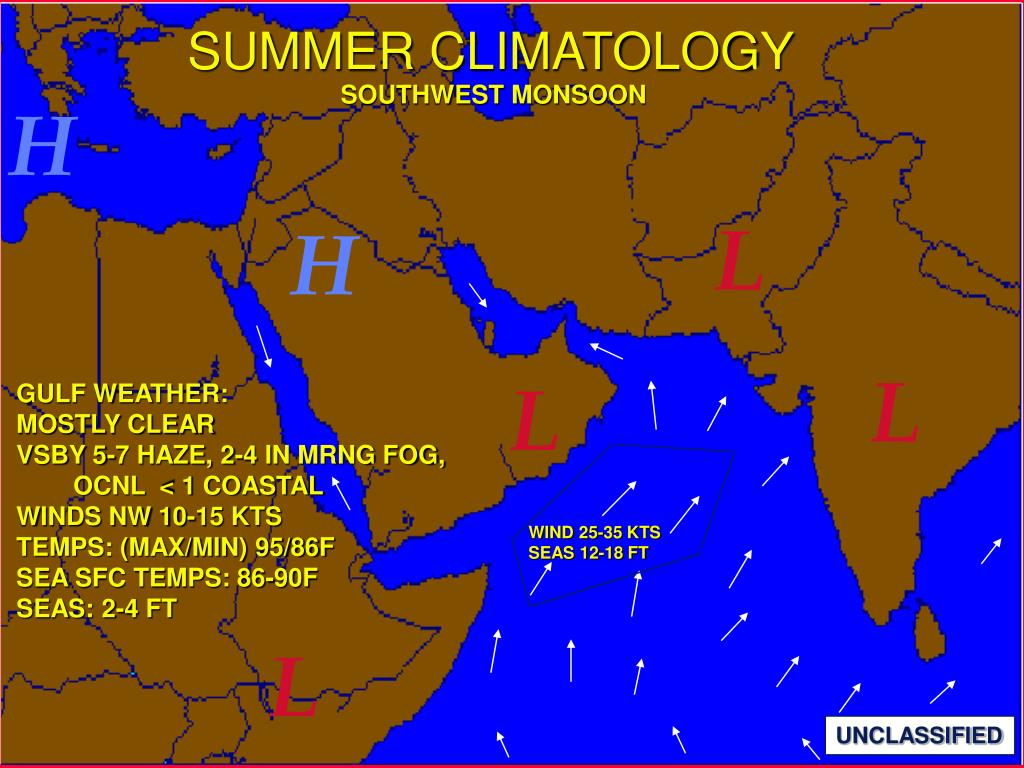 SUMMER CLIMATOLOGY