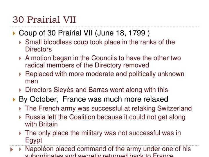 30 Prairial VII