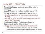 louis xvi 1774 1792