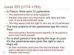 louis xvi 1774 17921