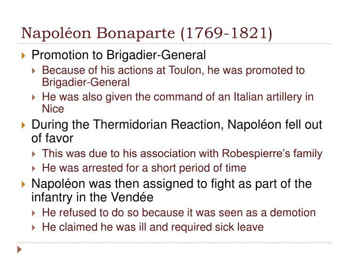 Napolon Bonaparte (1769-1821)
