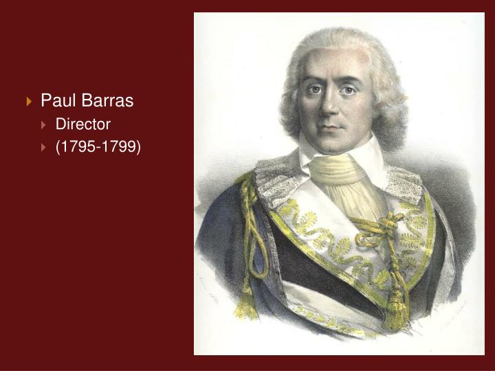 Paul Barras