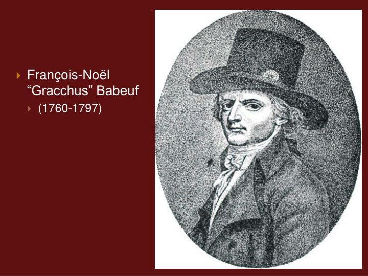 Franois-Nol Gracchus Babeuf