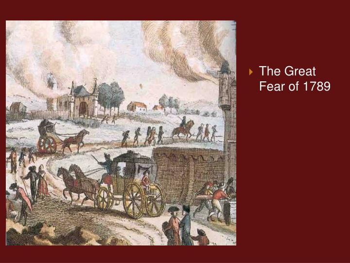 The Great Fear of 1789
