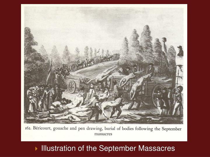 Illustration of the September Massacres