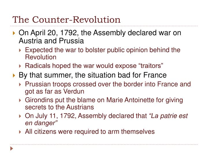 The Counter-Revolution