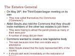 the estates general1
