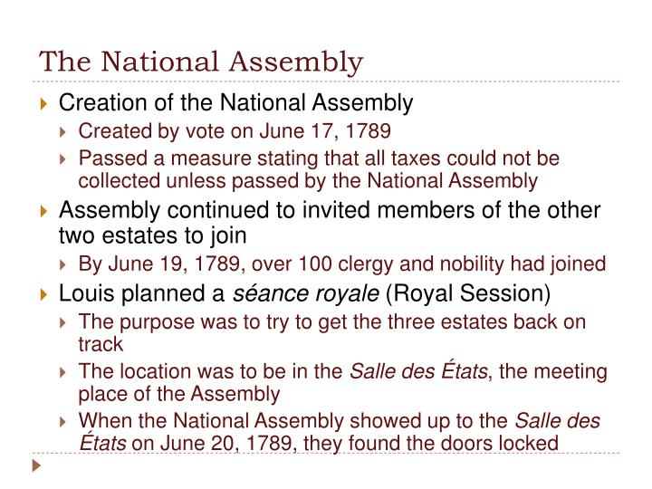 The National Assembly