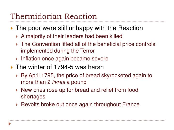Thermidorian Reaction