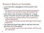 women s march on versailles