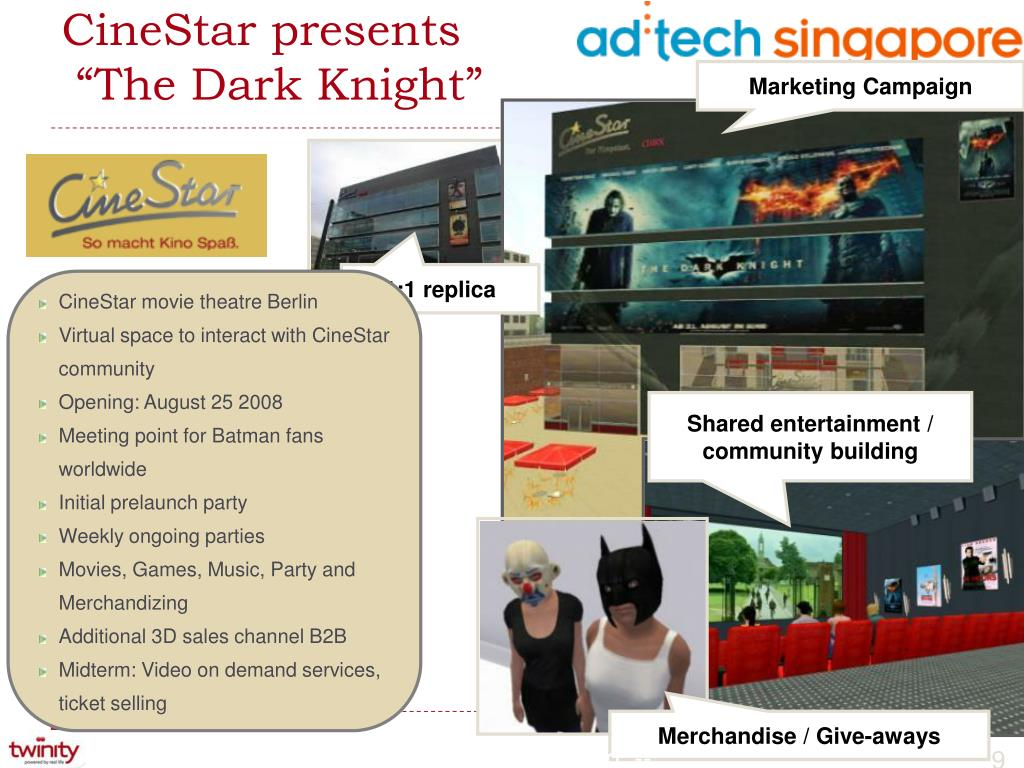 CineStar presents