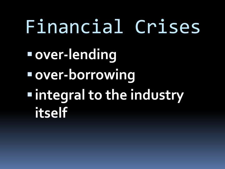 Financial Crises