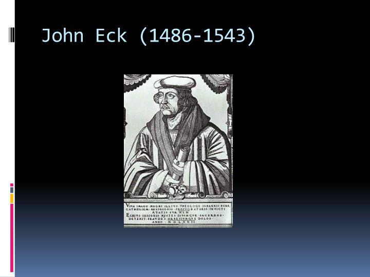 John Eck (1486-1543)