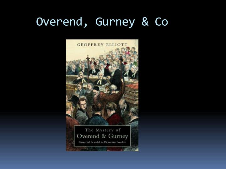 Overend, Gurney & Co