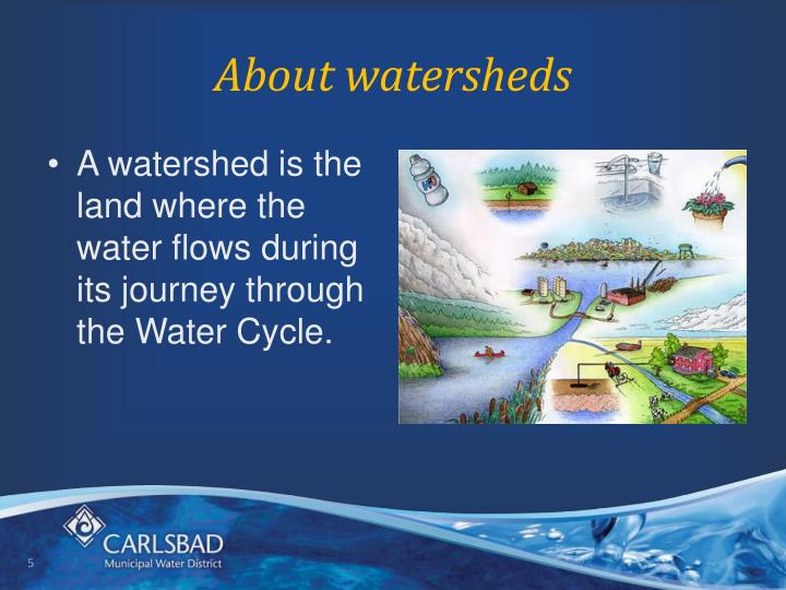 About watersheds