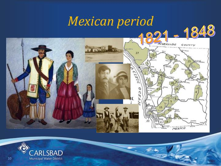 Mexican period