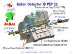 babar detector @ pep ii