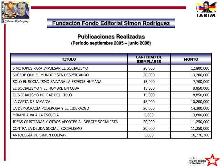 Fundación Fondo Editorial Simón Rodríguez
