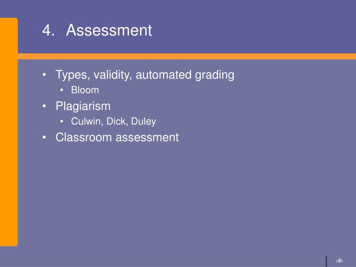 4.Assessment