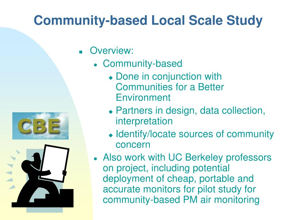 Community-based Local Scale
