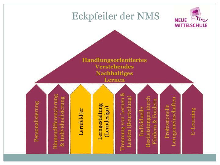 Eckpfeiler der NMS