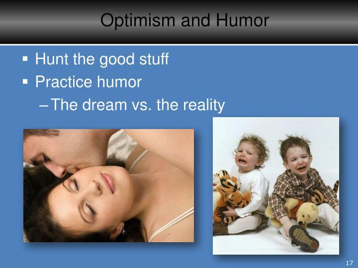 Optimism and Humor