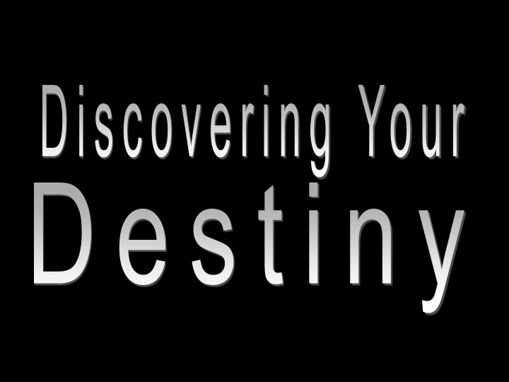 Discovering Your