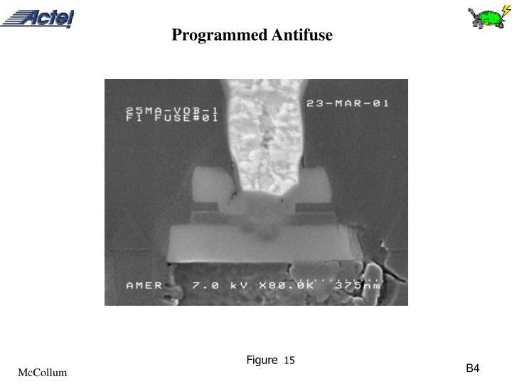 Programmed Antifuse