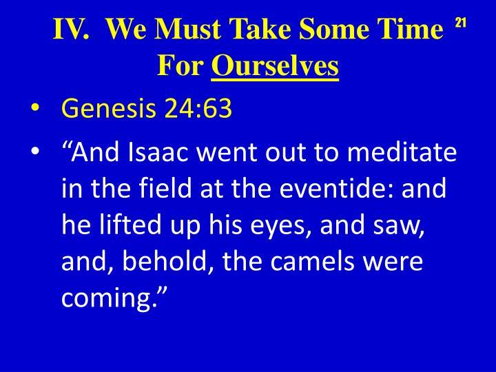 Genesis 24:63