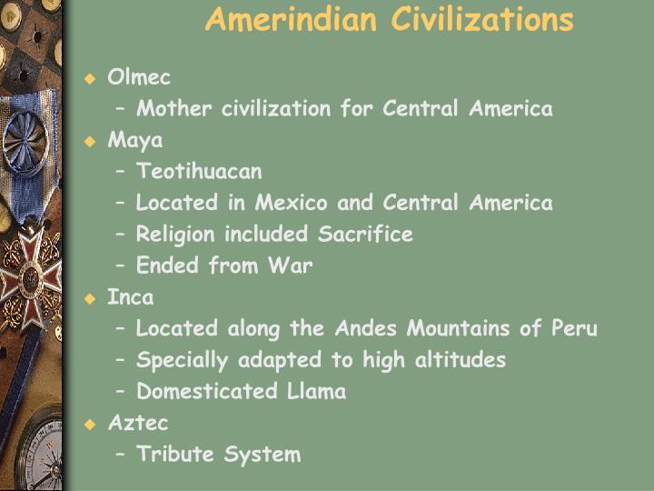 Amerindian Civilizations