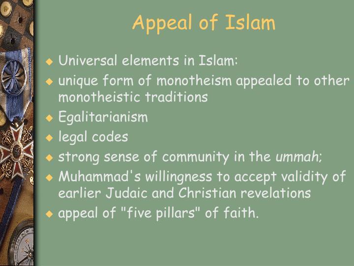 Appeal of Islam
