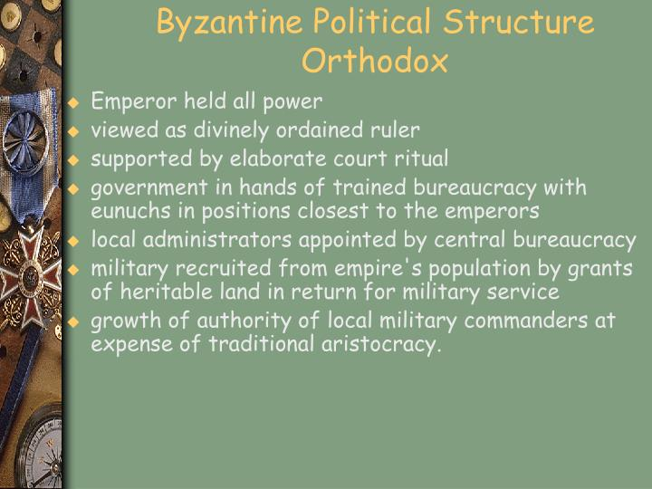 Byzantine Political Structure