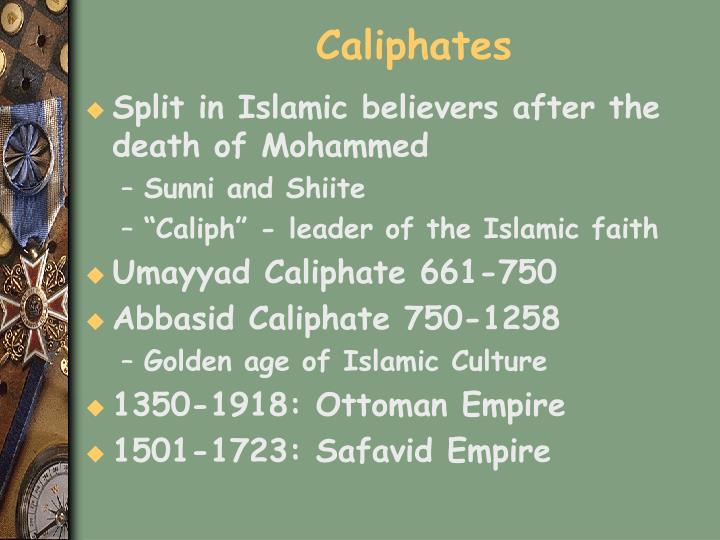 Caliphates