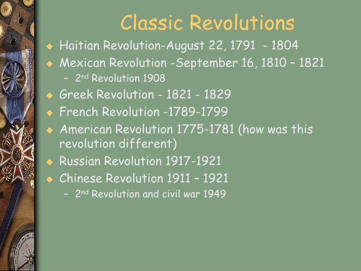 Classic Revolutions