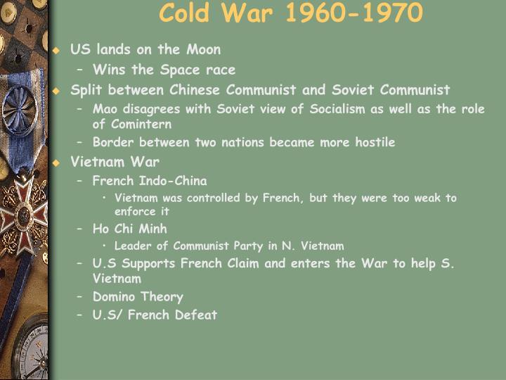 Cold War 1960-1970