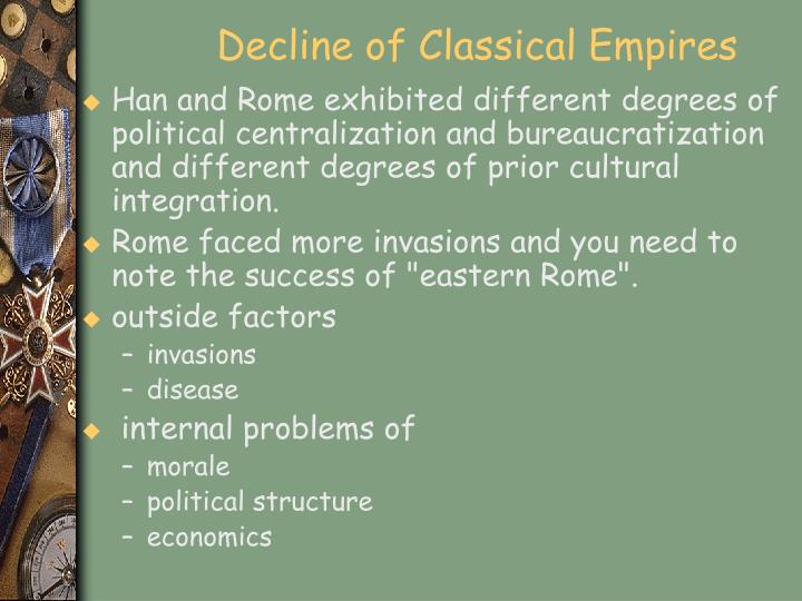 Decline of Classical Empires