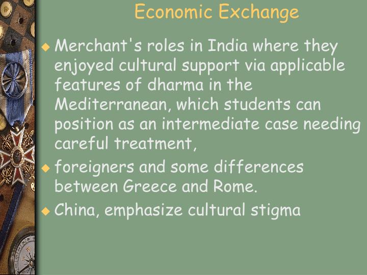 Economic Exchange