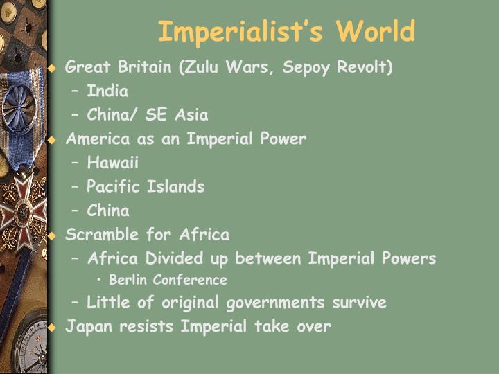 Imperialist's World