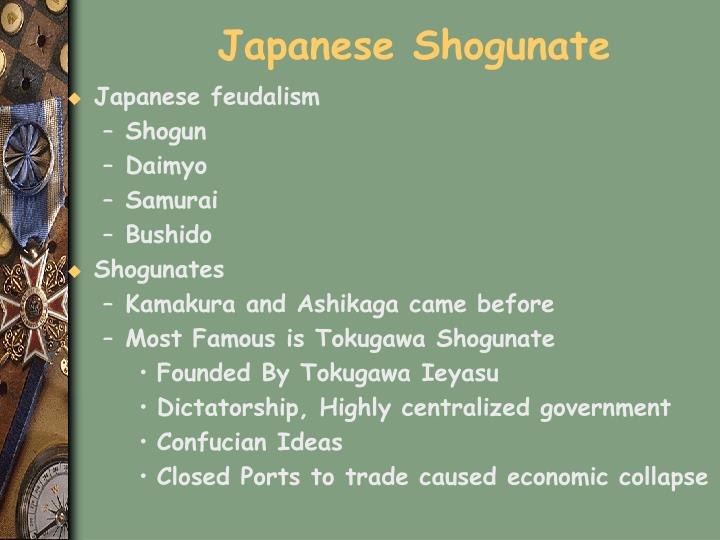 Japanese Shogunate