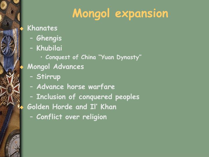 Mongol expansion