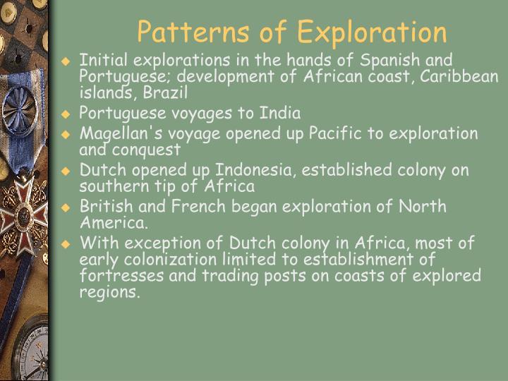Patterns of Exploration